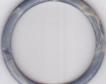 Bangle Bracelet...Gray Swirl