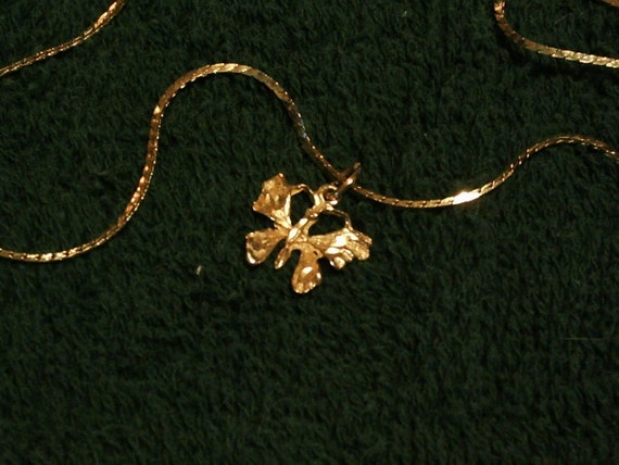 Butterfly Necklace....