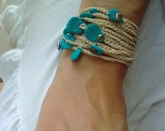Bridal vanilla bracelet - good energies for your event by RedBracelet on Etsy