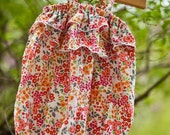 Little Girls Floral Ruffle Romper