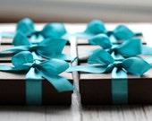 Bridesmaid Gift Set Six Handmade Sterling Silver Petals Earrings - Modern Bride