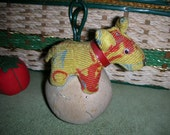 RESERVED FOR CRAZYHABERDASHER Charlie the Circus Dog Pincushion