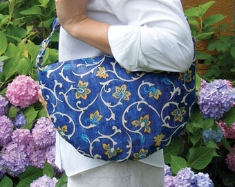 Halfmoon Handbag PDF Pattern to make yourself EASY