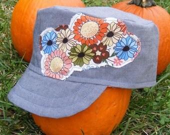 Baby Toddler Cadet Cap Military Hat PDF SEWING PATTERN
