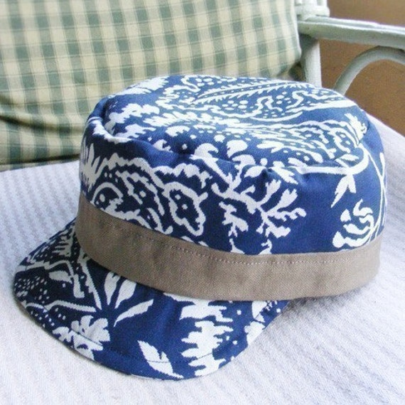 Cadet Cap Military Newsboy Hat Pdf Pattern Make By Betsycook
