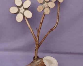 Wooden Flower (423)