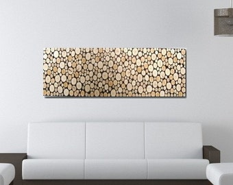 Wood Wall Art - Wood Slice Art - Rustic Wall Art - Wood Sculpture