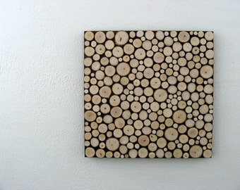 Rustic Wall Art - Wood Art - Wood Sculpture - Tree Branch Art - Abstract Art