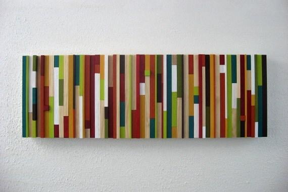 Wall Art  - Modern Wood Sculpture