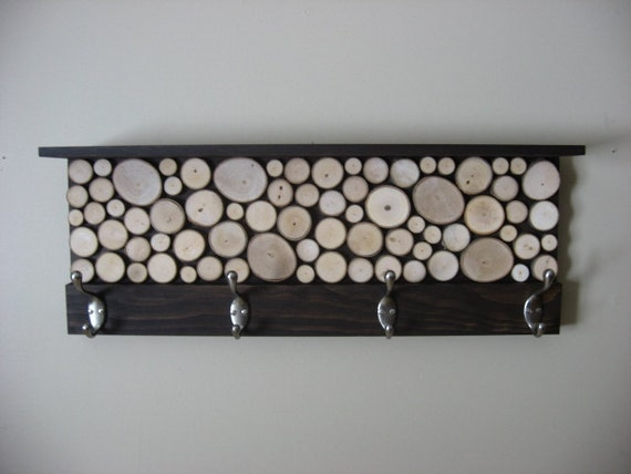10% OFF SALE Coupon Code - Rustic Modern Coat Rack with Hooks and Shelf - Storage - Hallway Decor - Home Decor