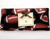SALE - Football Reusable Sports Sandwich, Snack Bag, and Napkin Set