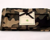 SALE - Camouflage Eco-friendly Sandwich Bag, Snack Bag, and Napkin Set
