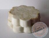 Natural Goats Milk Loofah Soap Scrub