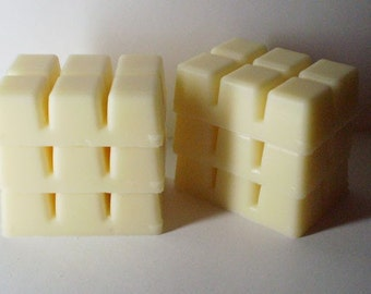 6 Dye Free Break Away Melts - Soy Wax - Your Choice of Fragrance - NO Clam Shell - NO Waste