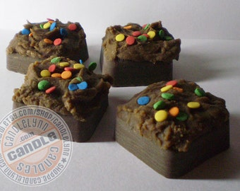 8 Mini Frosted FUDGE BROWNIE Melts