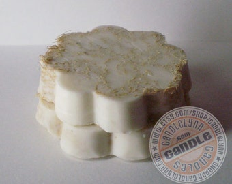Natural Goats Milk Loofah Soap Scrub