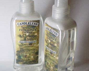 Fragrance Spray - OH ChRIStMAs TREE - 8 oz  Bath & Home