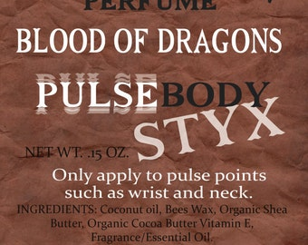 Pulse Body Styx Perfume - Blood of Dragons