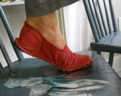 Red shoes size 9