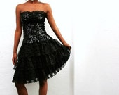SALE Flirtations Sequins Party Dress