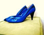Size 8 Medium 1980s Footworks High Heels