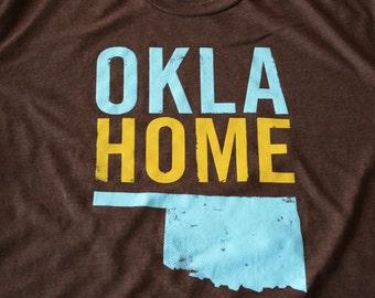 OklaHome T-shirt - Brown (Small)