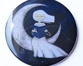In the Moonlight - Pocket Mirror