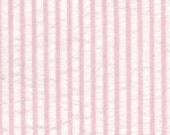 Premium Cotton Seersucker, Light Pink Fabric Finders