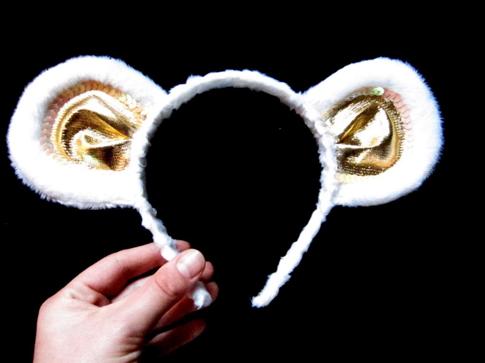 Extra Special Ears Headband Polar Bear Ears Or Teddy Bear