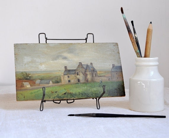 19th century miniature french painting