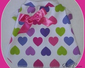 XXSmall Big Heart Dog TShirt Clothes by Doogie Couture