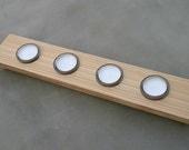 4 Tea-Light Cypress Votive