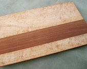 Serving Platter - Quilted Maple and Tzalam