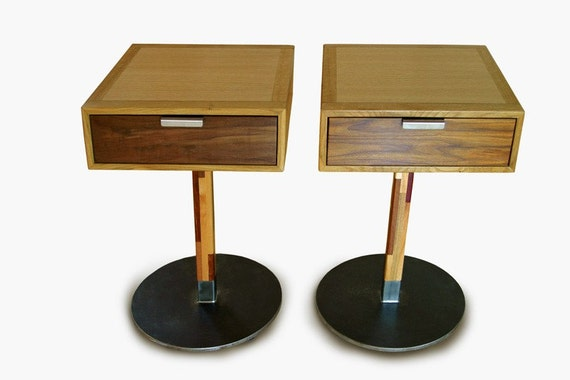 Pedestal Night Tables