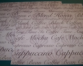 Scrapbooking 12X12 Paper - Coffee - Java - 2 sheets