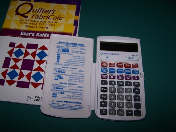 Quilter's FabriCalc Model 8400 by Calculated Industries