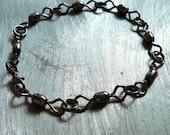 Silver Crane Swivel Bracelet, Fishing Jewelry