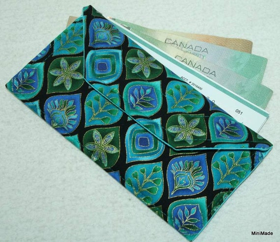 Fabric Wallet, Multi-purpose, Coupon holder