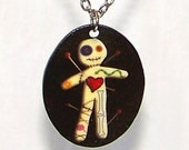 Voodoo Doll Necklace - Pendant