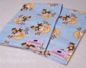 Hey Diddle Diddle Burp Cloths SET of 2
