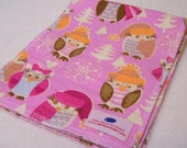 Chilli Owl Burp Cloth SET of 3
