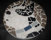 Boston Terrier Mosaic Stepping Stone