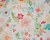 Hobby Lobby Euro Rainbow Floral Fabric 1 yard boutique