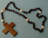 Wood and Stone Rosary