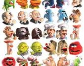Muppets Gossips Print...