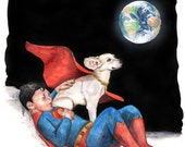 Between Adventures Print- Super Boy/ Superman