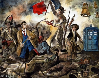 Liberty Leading the Doctor Print
