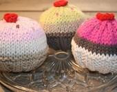Yummy Knit Cupcake Pattern