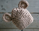Baby Bear Hat in Caramel