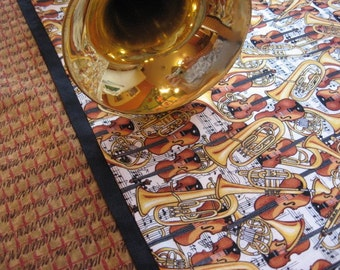 Band and Orchestra Players Music Pillowcase